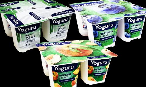Обновление Минских йогуртов