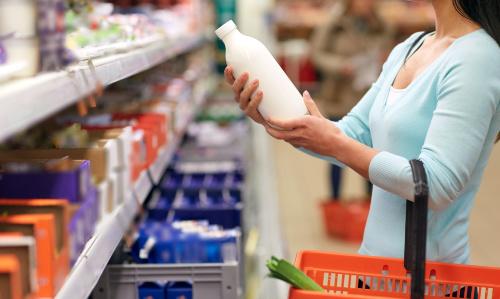 Особенности выкладки молока и молочных продуктов в торговом зале